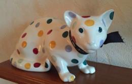 Polka Dot Lying Down Cat Left - Emma Bridgewater | Ceramics | Polka Dot Cat left
