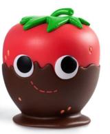 Yummy World Tasty Treats Vinyl Mini Series Kidrobot Strawberry Donut 3//24