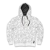 Dunny Print Zip Up Hoodie | Shirts & Jackets