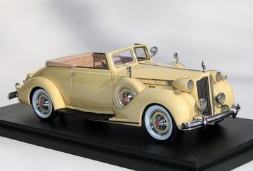 1938 Packard Twelve Convertible Victoria   Model Cars