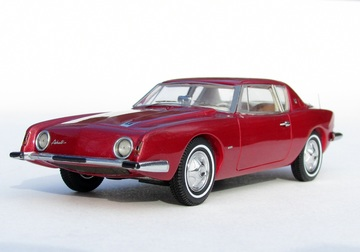 1963 Studebaker Avanti Supercharged  | Model Cars