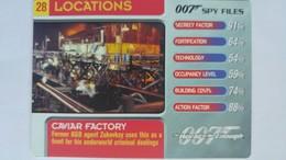 007 Spy Files #28 - Caviar Factory | Trading Cards (Individual)