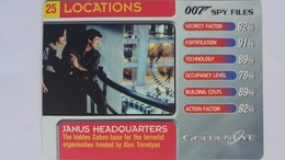 007 Spy Files #25 - Janus Headquarters | Trading Cards (Individual)