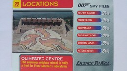 007 Spy Files #22 - Olimpatec Centre | Trading Cards (Individual)