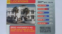 007 Spy Files #21 - Brad Whitaker's HQ | Trading Cards (Individual)