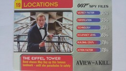 007 Spy Files #19 - The Eiffel Tower | Trading Cards (Individual)