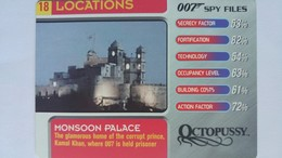 007 Spy Files #18 - Monsoon Palace | Trading Cards (Individual)