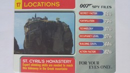 007 Spy Files #17 - St. Cyril's Monastery | Trading Cards (Individual)