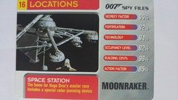 007 Spy Files #16 - Space Station | Trading Cards (Individual)
