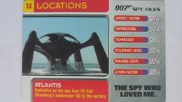 007 Spy Files #14 - Atlantis | Trading Cards (Individual)