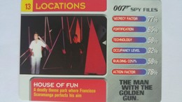 007 Spy Files #13 - House Of Fun | Trading Cards (Individual)