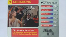 007 Spy Files #12 - Dr. Kananga's Lair | Trading Cards (Individual)