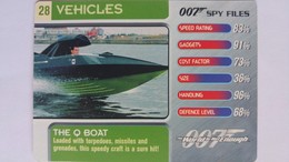 007 Spy Files #28 - The Q Boat | Trading Cards (Individual)