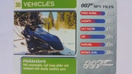 007 Spy Files #30 - Parahawk | Trading Cards (Individual)