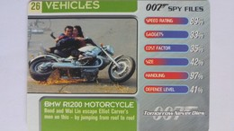 007 Spy Files #26 - BMW 1200 Motorcycle | Trading Cards (Individual)
