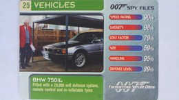 007 Spy Files #25 - BMW 750iL | Trading Cards (Individual)