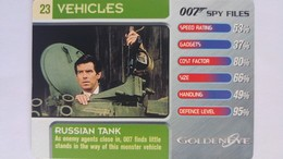 007 Spy Files #23 - Russian Tank | Trading Cards (Individual)