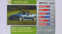 007 Spy Files #22 - BMW Z3 Roadster | Trading Cards (Individual)