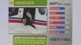 007 Spy Files #20 - Zorin Industries' Airship | Trading Cards (Individual)