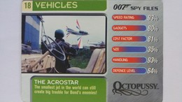 007 Spy Files #18 - The Acrostar | Trading Cards (Individual)