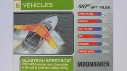 007 Spy Files #15 - Glastron Speedboat | Trading Cards (Individual)