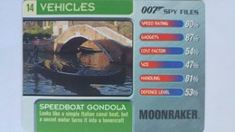 007 Spy Files #14 - Speedboat Gondola | Trading Cards (Individual)
