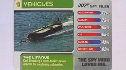 007 Spy Files #13 - The Liparus | Trading Cards (Individual)