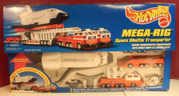 Mega-Rig Space Shuttle Transporter | Model Vehicle Sets
