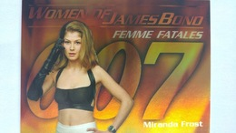 Women Of James Bond In Motion #FF9 - Miranda Frost | Trading Cards (Individual)