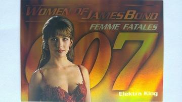 Women Of James Bond In Motion #FF8 - Elektra King | Trading Cards (Individual)