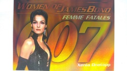 Women Of James Bond In Motion #FF7 - Xenia Onatopp | Trading Cards (Individual)