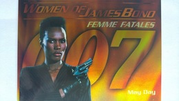 Women Of James Bond In Motion #FF6 - May Day | Trading Cards (Individual)