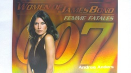 Women Of James Bond In Motion #FF5 - Andrea Anders | Trading Cards (Individual)