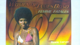 Women Of James Bond In Motion #FF4 - Rosie Carver | Trading Cards (Individual)