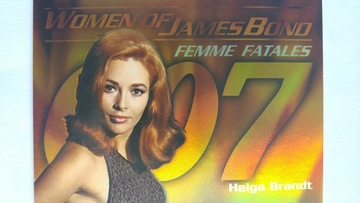 Women Of James Bond In Motion #FF3 - Helga Brandt | Trading Cards (Individual)