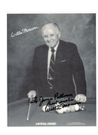 Willie Mosconi {Professional Pool Player}Autograph | Posters & Prints