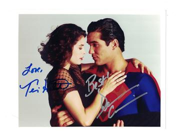 Superman {Teri Hatcher & Dean Caine} Lois & Clark Autographs | Posters & Prints