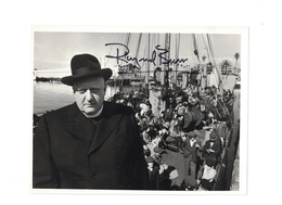 Raymond Burr {Perry Mason} Signed Autograph | Posters & Prints