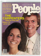 The Carpenters 1976 Vintage People Magazine   | Posters & Prints