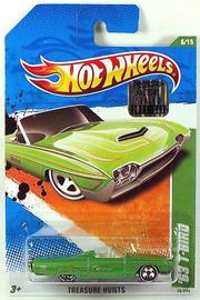 '63 T-Bird | Model Cars | Factory Set sticker on card
