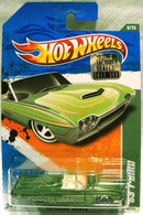 '63 T-Bird | Model Cars | Factory Set sticker on card