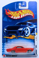 Riviera 1964 | Model Cars | HW 2002 - Collector # 042/240 - Series 30/42 - Riviera 1964 - Metallic Orange - PR5s - International Long Card