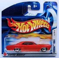 Riviera 1964 | Model Cars | HW 2002 - Collector # 042/240 - Series 30/42 - Riviera 1964 - Metallic Orange - 5 Spoke - International Short Card