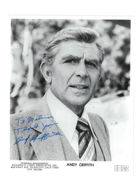Andy Griffith {Andy Griffith} Show Autograph | Posters & Prints