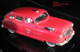 1949 Nash Airflyte 4-dr Sedan Firechief | Model Cars | photo: David H