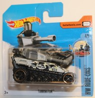 "Tanknator | Model Military Tanks & Armored Vehicles | 2017 Hot Wheels ""Tanknator""    (HW RIDE-ONS ) INTERNATIONAL SHORT CARD"
