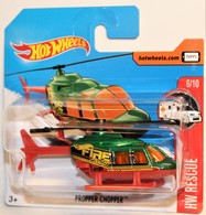 "Propper Chopper 2017 International Short Card | Model Aircraft | 2017 Hot Wheels ""Propper Chopper"" ( HW RESCUE ) INTERNATIONAL SHORT CARD"