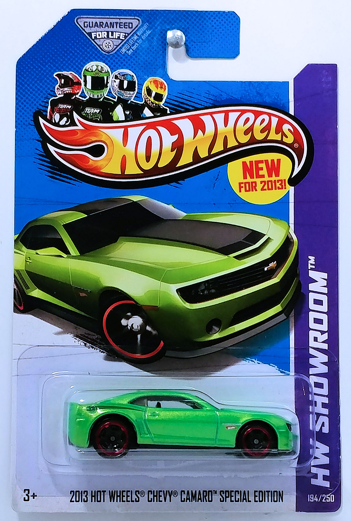 2013 hot wheels chevy camaro special edition model cars hobbydb. Black Bedroom Furniture Sets. Home Design Ideas