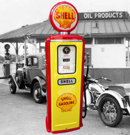 Shell Gasoline Model 39 Tokheim Gas Pump | Gas/Petrol Pumps