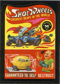 Shot Wheels | Decals & Stickers